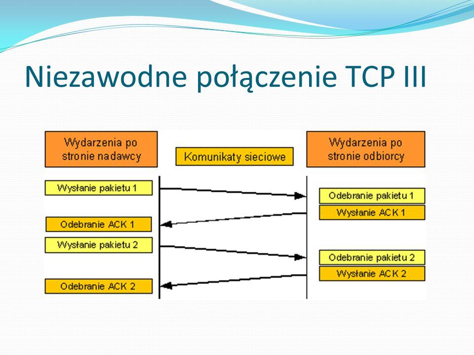 Niezawodne połączenie TCP III