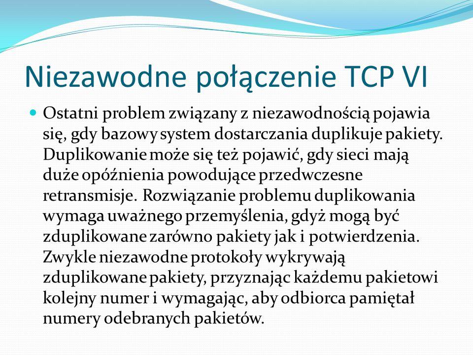 Niezawodne połączenie TCP VI