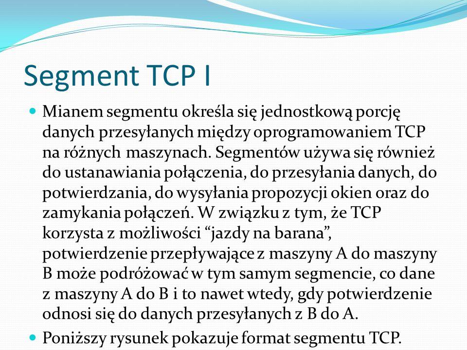 Segment TCP I