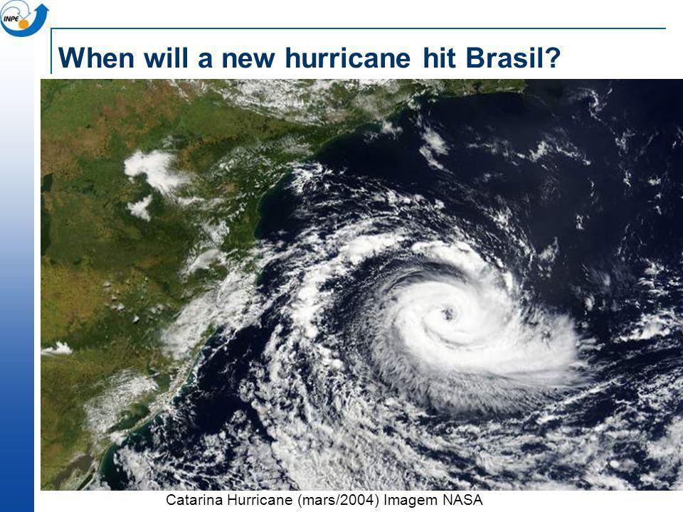 When will a new hurricane hit Brasil