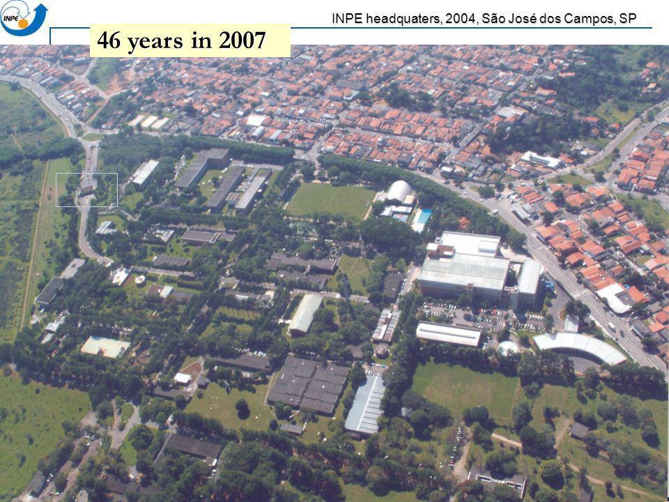 INPE headquaters, 2004, São José dos Campos, SP