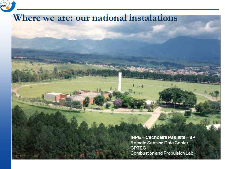 Where we are: our national instalations
