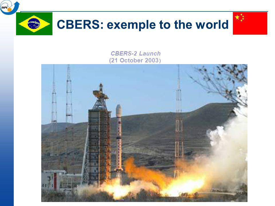 CBERS: exemple to the world
