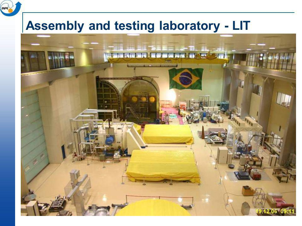 Assembly and testing laboratory - LIT
