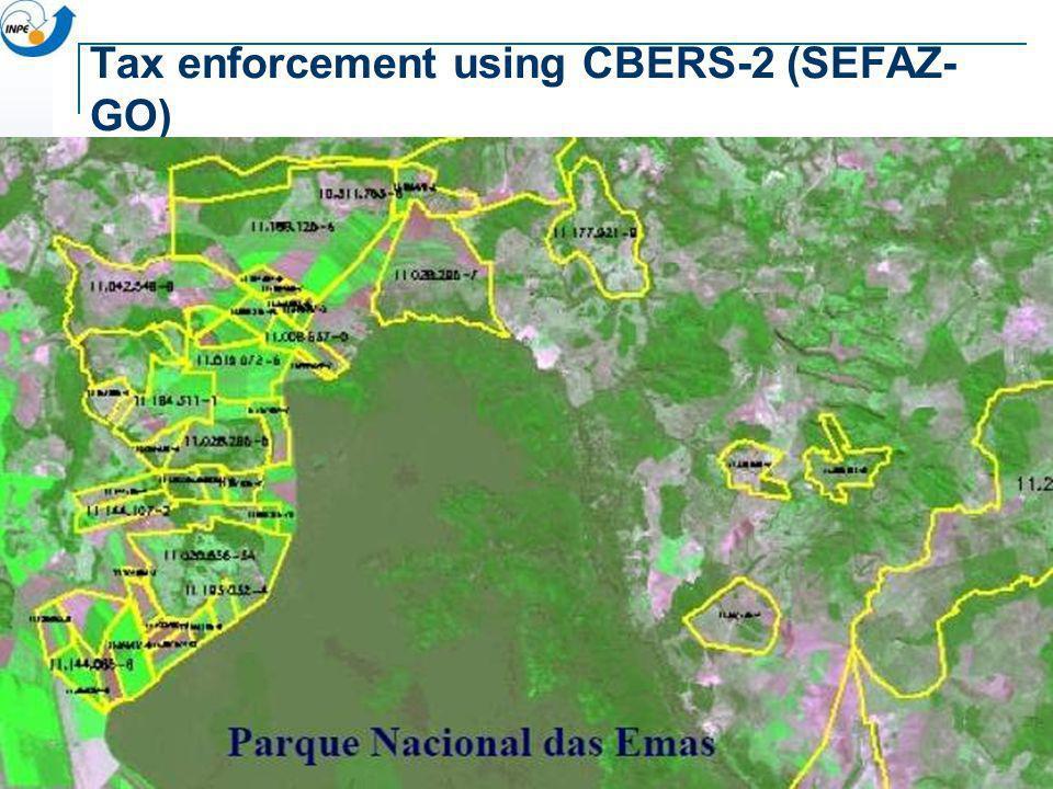 Tax enforcement using CBERS-2 (SEFAZ-GO)