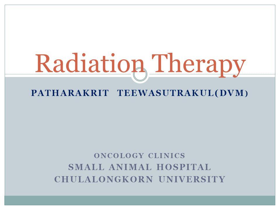 Patharakrit Teewasutrakul(DVM) Chulalongkorn University