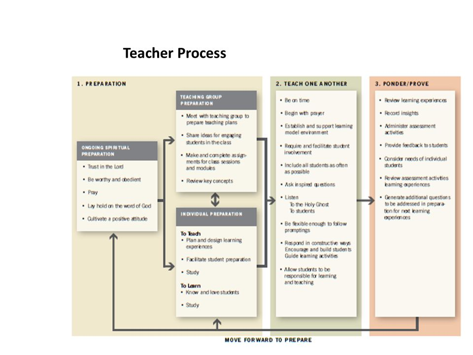Teacher Process