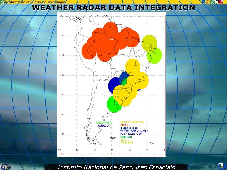 WEATHER RADAR DATA INTEGRATION