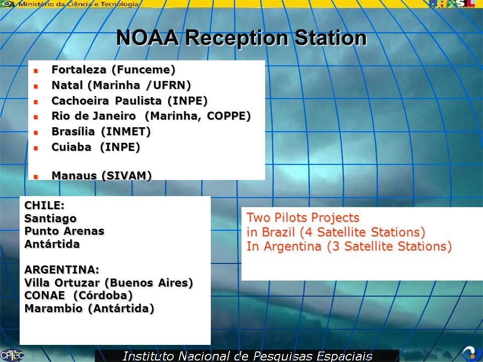 NOAA Reception Station