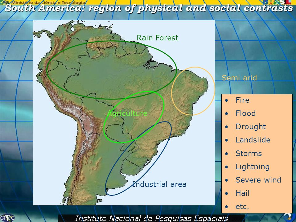 South America: region of physical and social contrasts