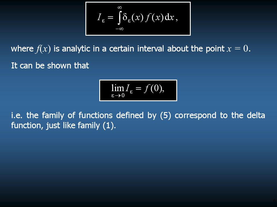 where f(x) is analytic in a certain interval about the point x = 0.