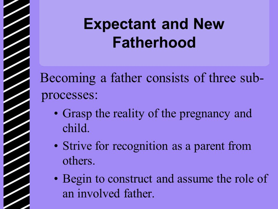 Expectant and New Fatherhood