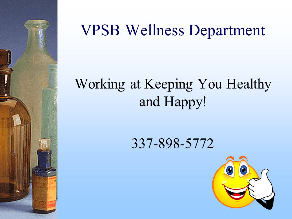 VPSB Wellness Department