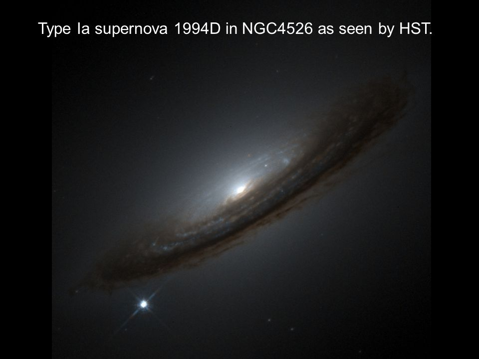 Type Ia supernova 1994D in NGC4526 as seen by HST.