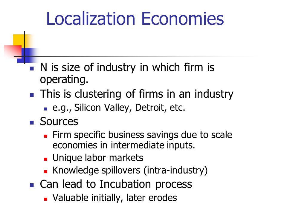 Localization Economies