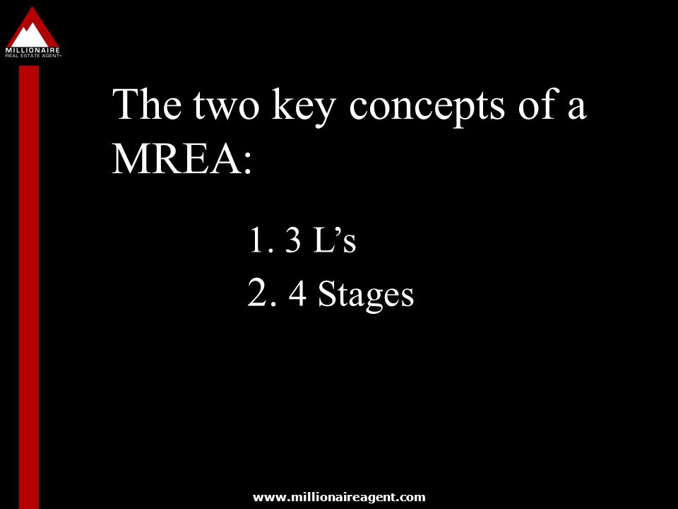 The two key concepts of a MREA: