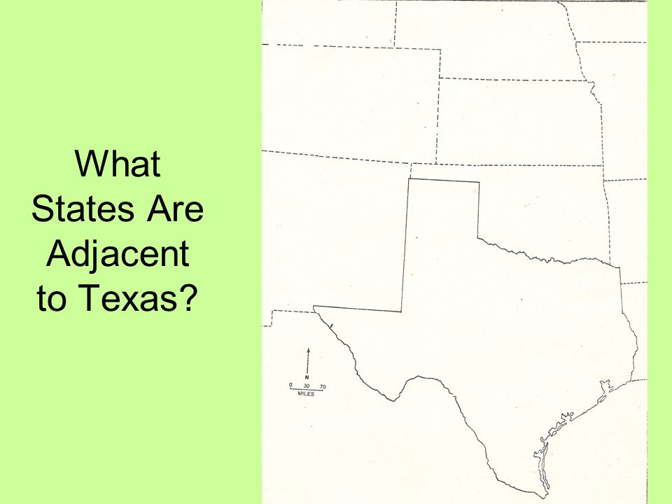 What States Are Adjacent to Texas
