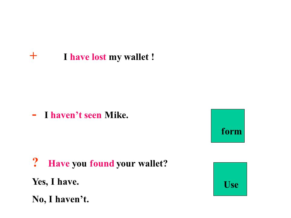 Have you found your wallet
