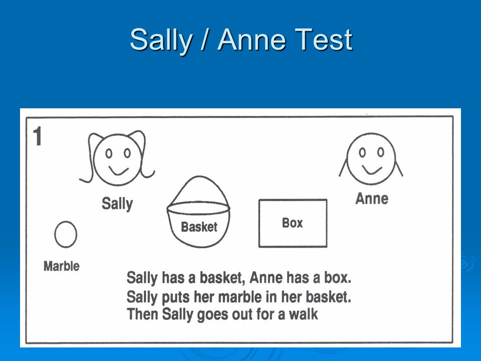 Sally / Anne Test