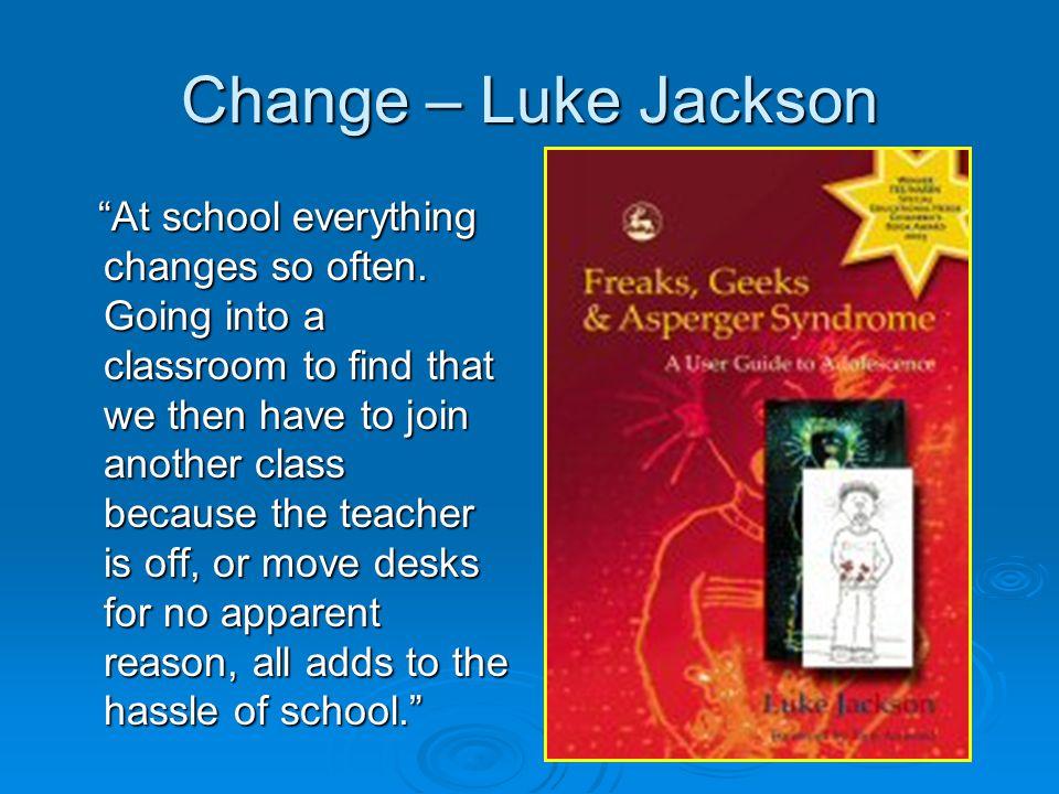 Change – Luke Jackson
