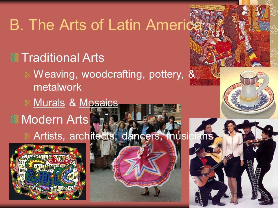 B. The Arts of Latin America