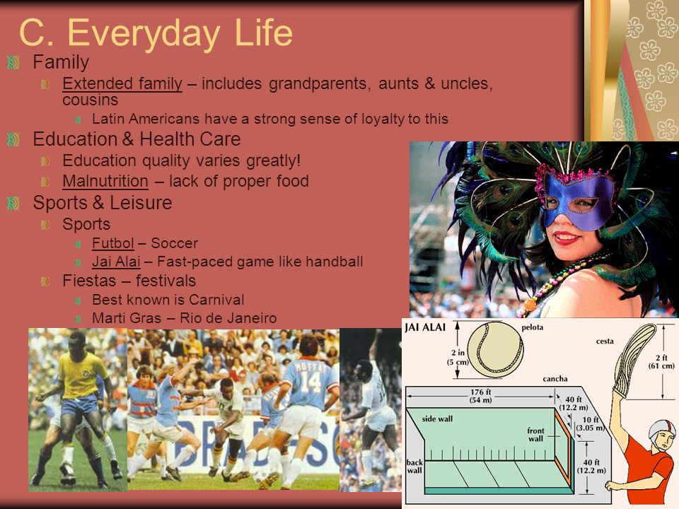 C. Everyday Life Family Education & Health Care Sports & Leisure