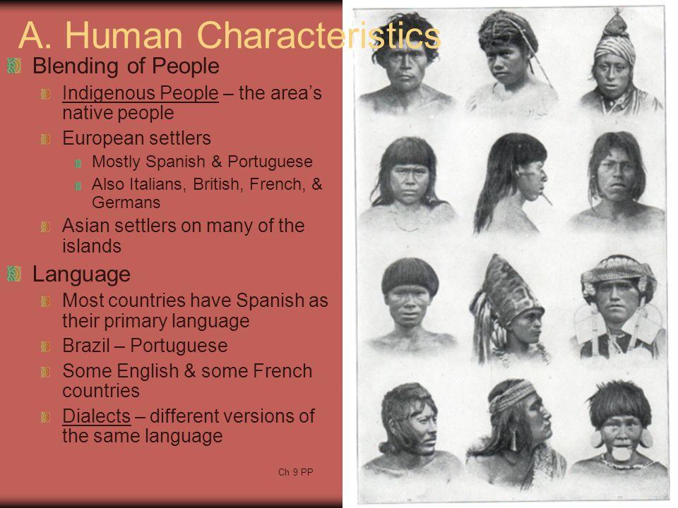 A. Human Characteristics