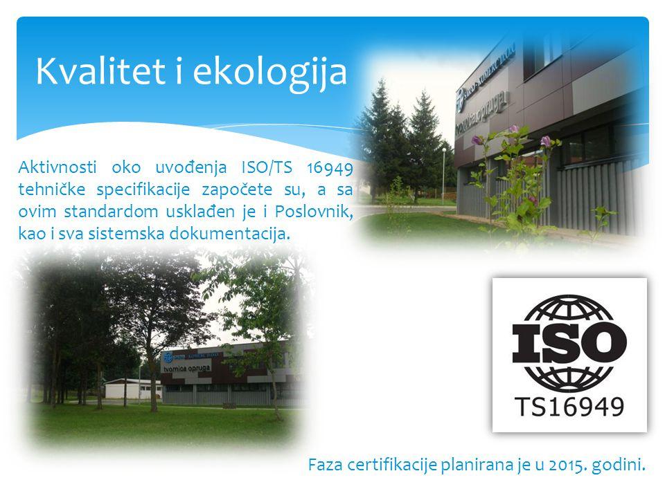 Kvalitet i ekologija