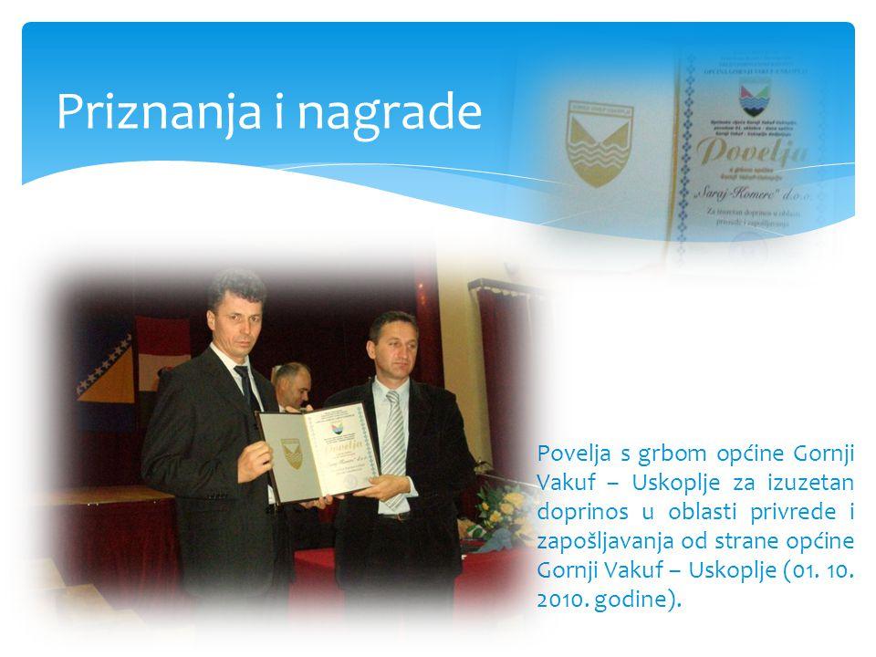 Priznanja i nagrade