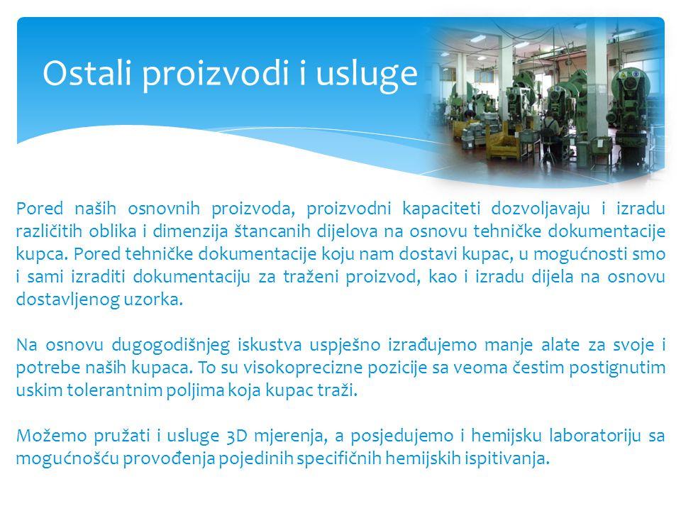Ostali proizvodi i usluge