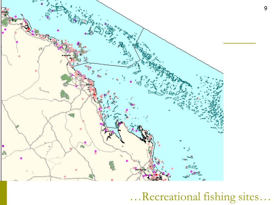 …Recreational fishing sites…