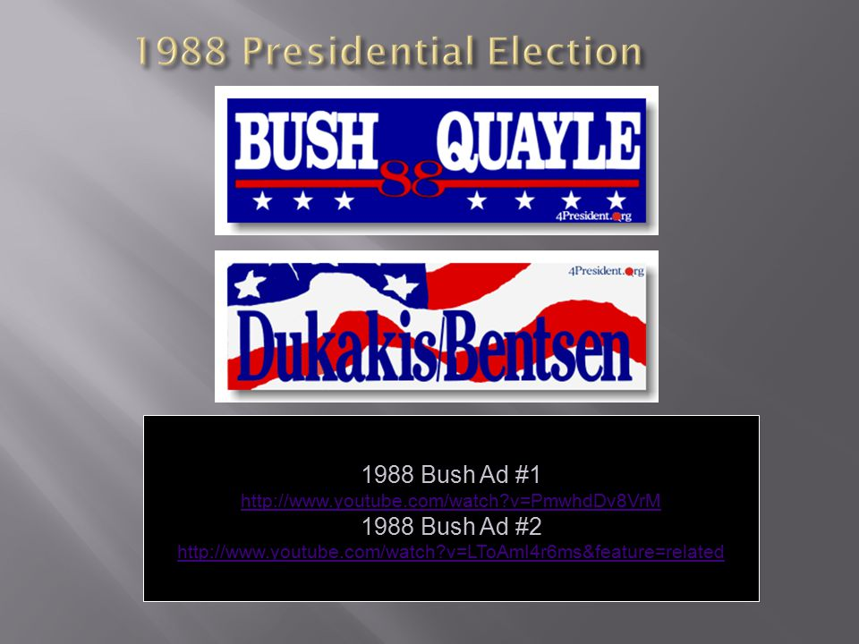 1988 Presidential Election