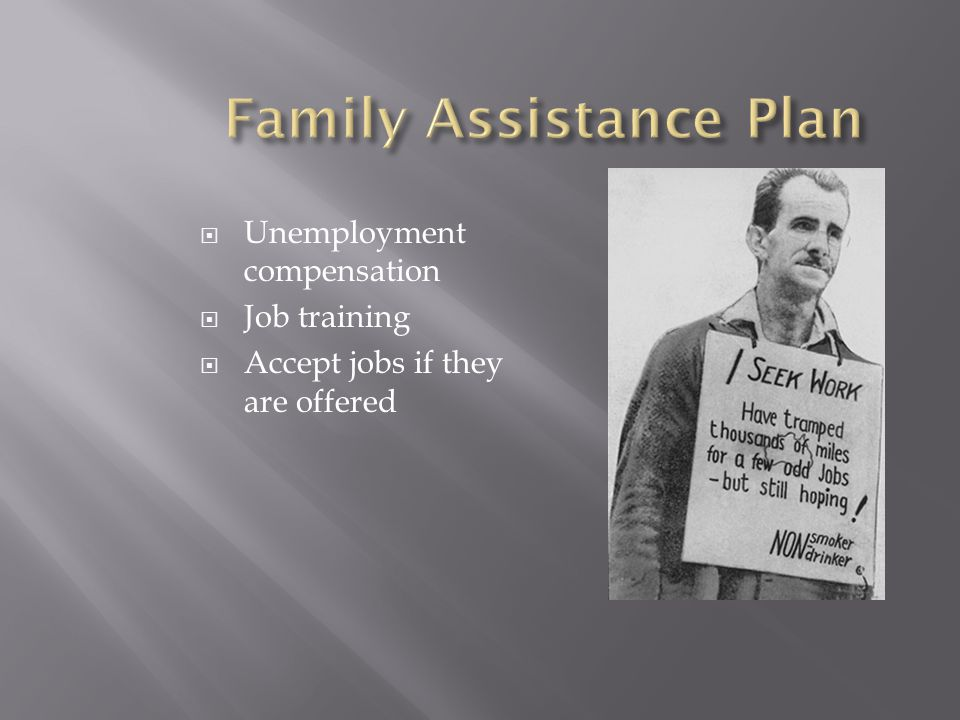 Family Assistance Plan