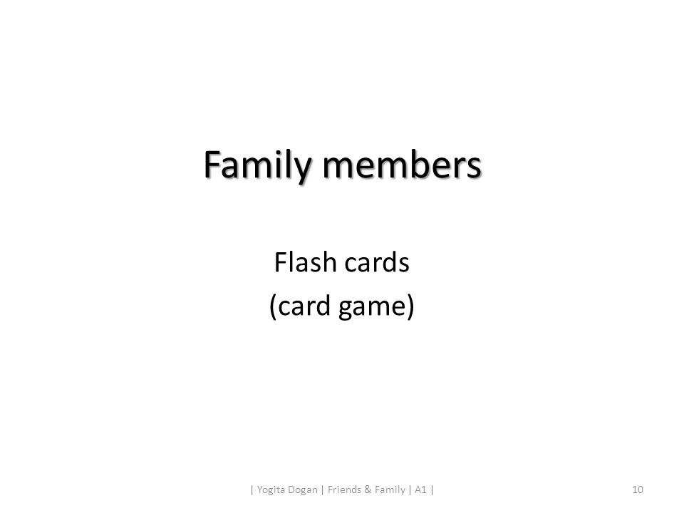 Flash cards (card game)