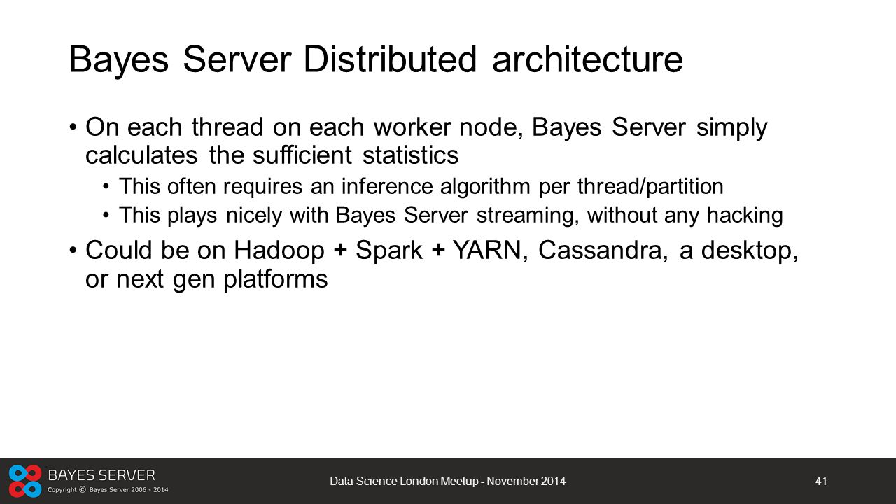 Bayes Server Distributed architecture