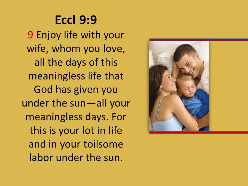 Eccl 9:9