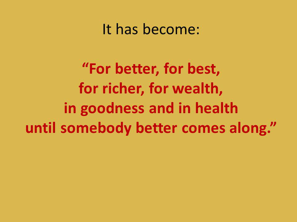in goodness and in health
