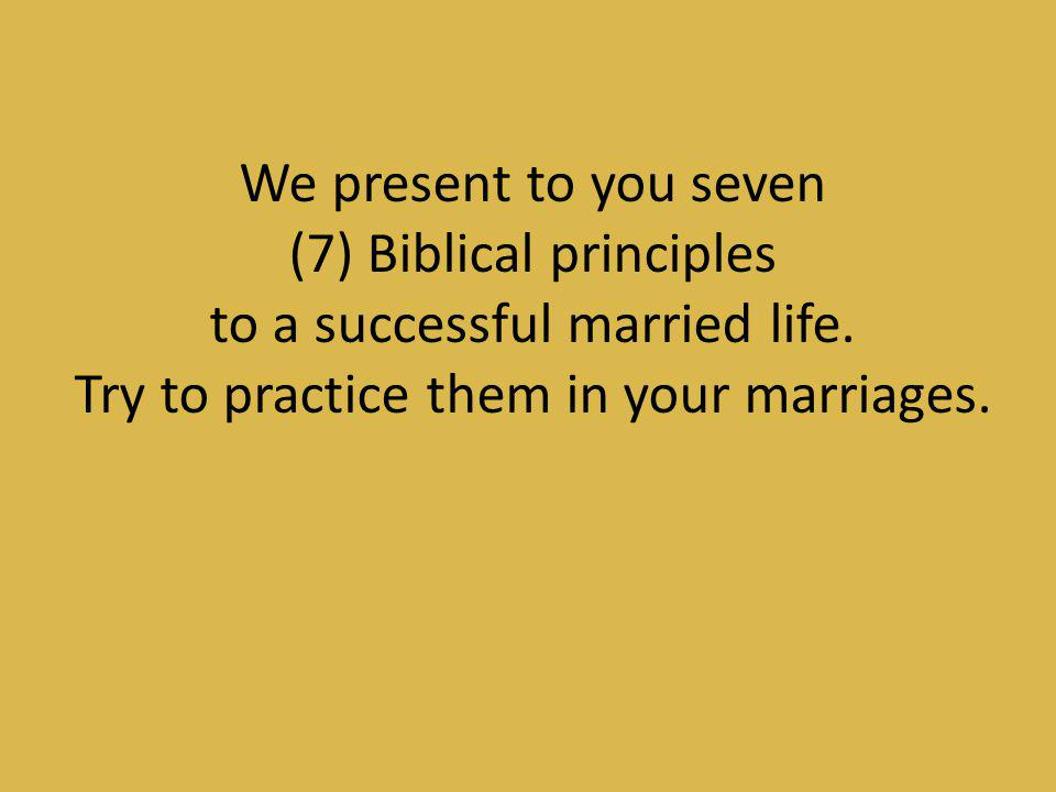 Dating that practices christian principles is scriptural.