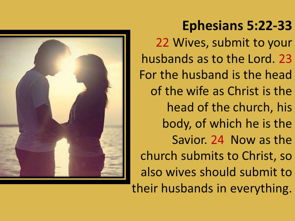 Ephesians 5:22-33