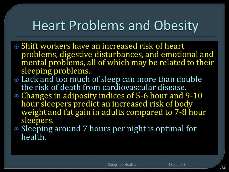 Heart Problems and Obesity