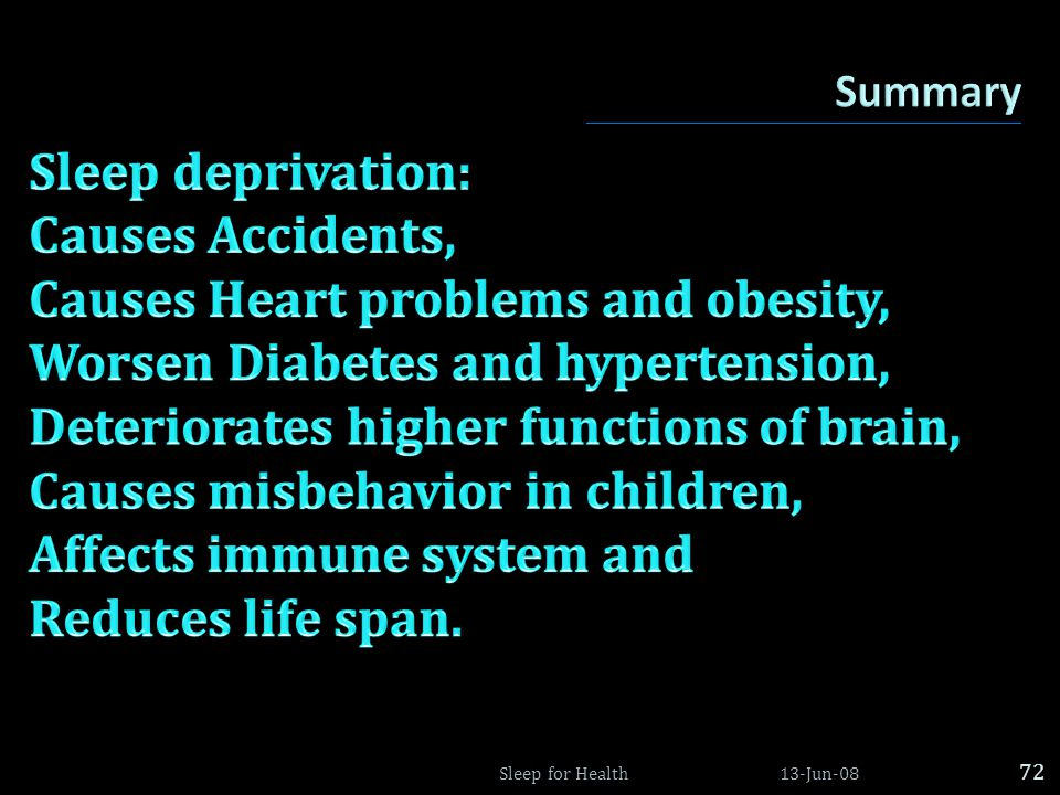 Causes Heart problems and obesity, Worsen Diabetes and hypertension,