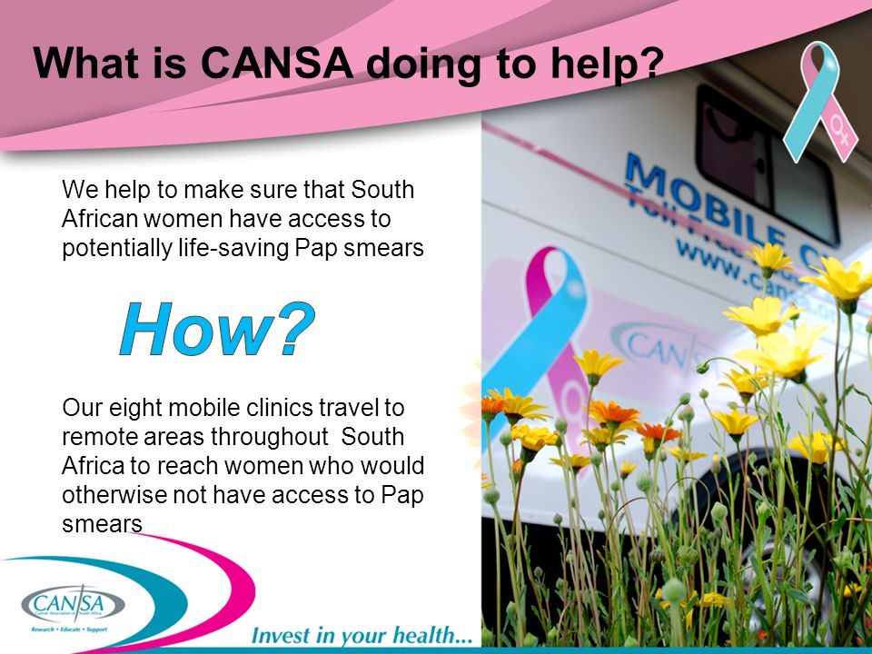 What is CANSA doing to help