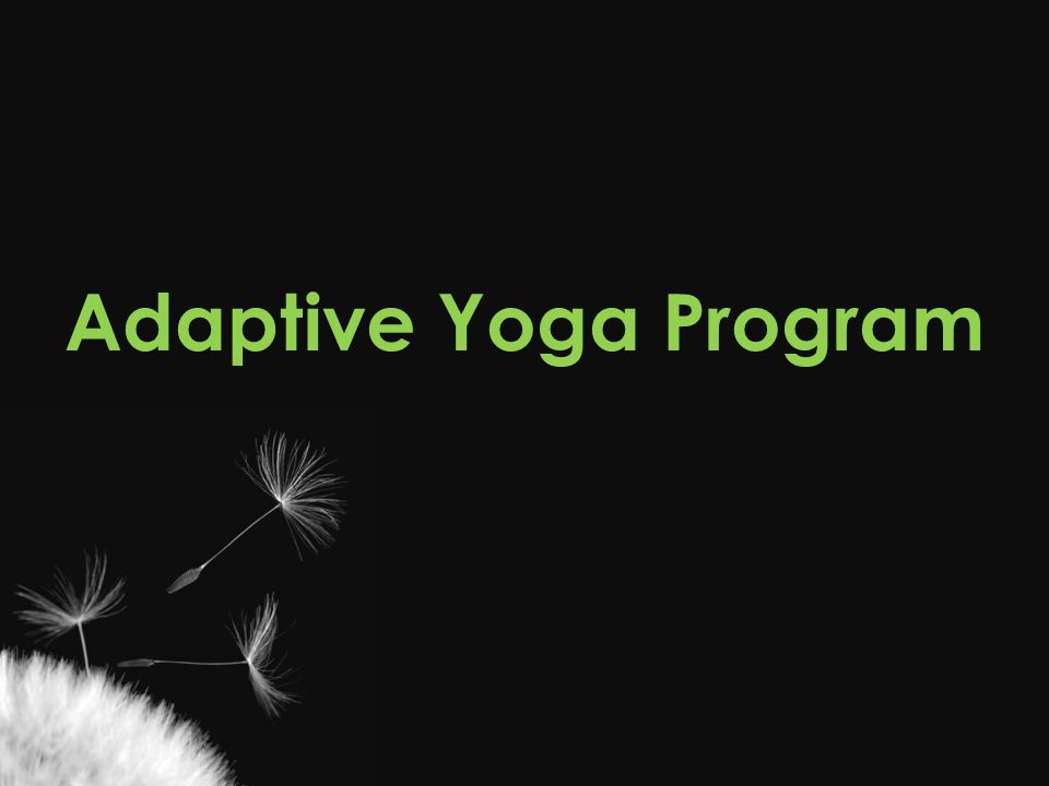 Adaptive Yoga Program Casey