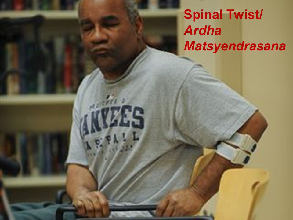 Spinal Twist/ Ardha Matsyendrasana