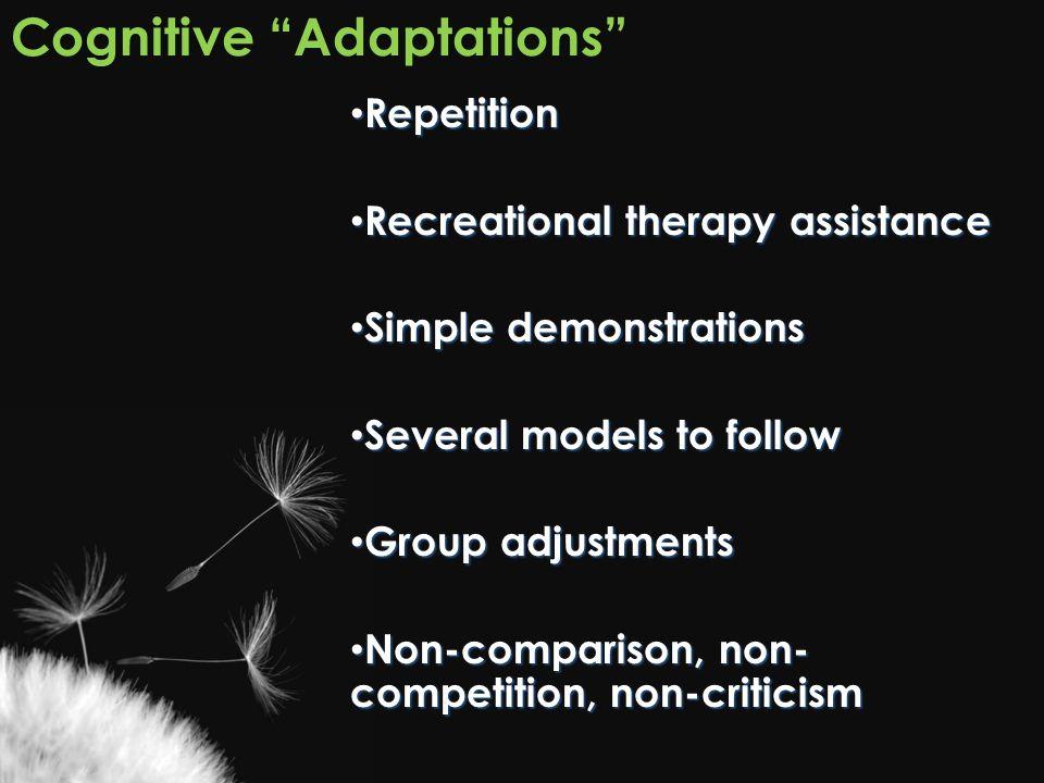 Cognitive Adaptations