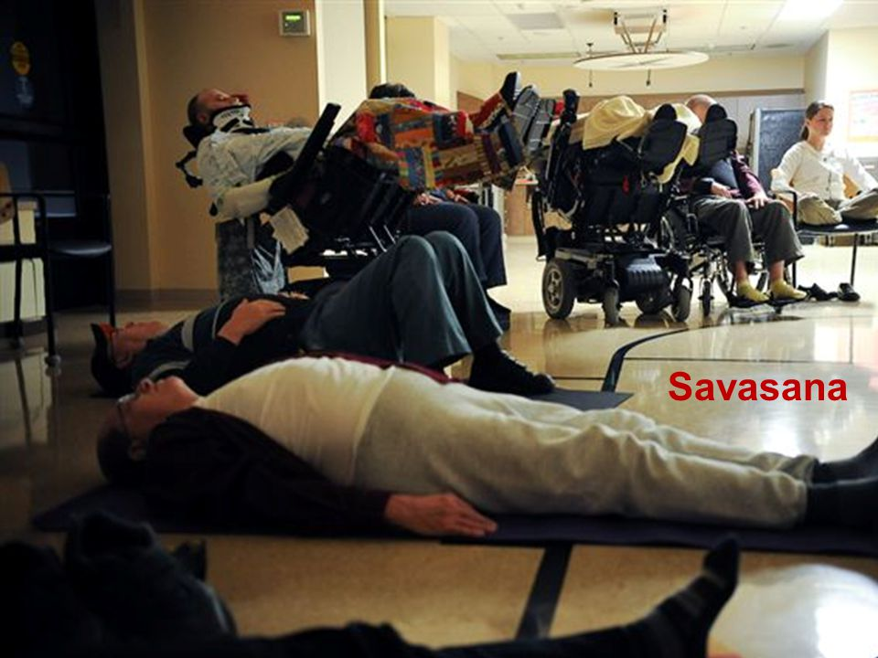 Adaptive Yoga Savasana Casey