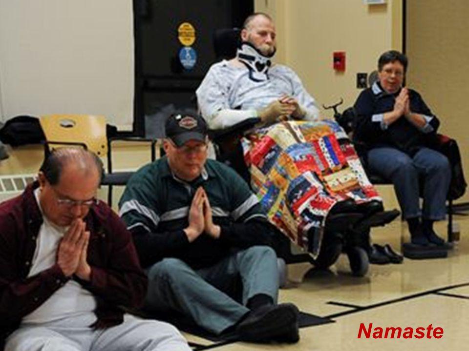 Adaptive Yoga Casey Namaste