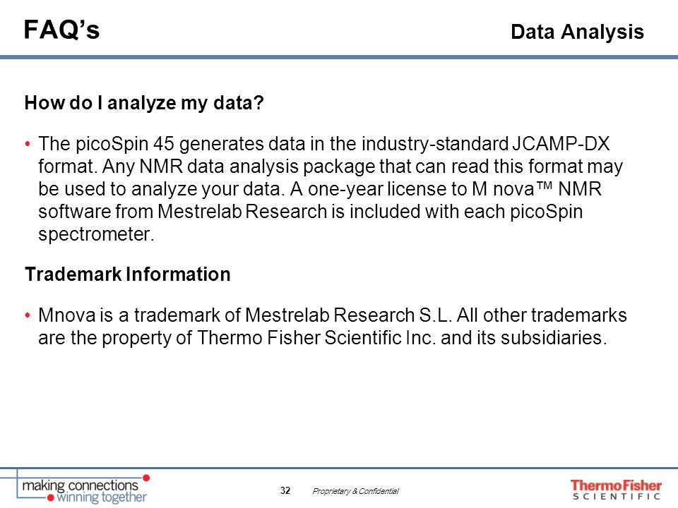 FAQ's Data Analysis How do I analyze my data