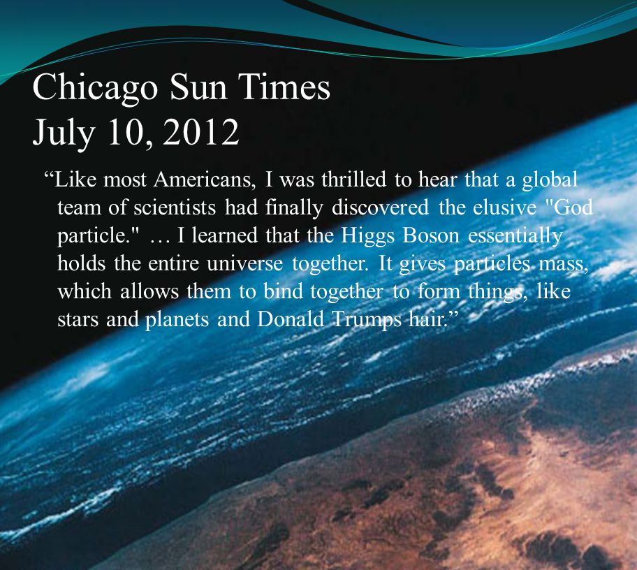 Chicago Sun Times July 10, 2012