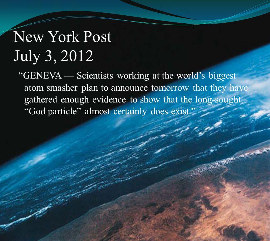 New York Post July 3, 2012